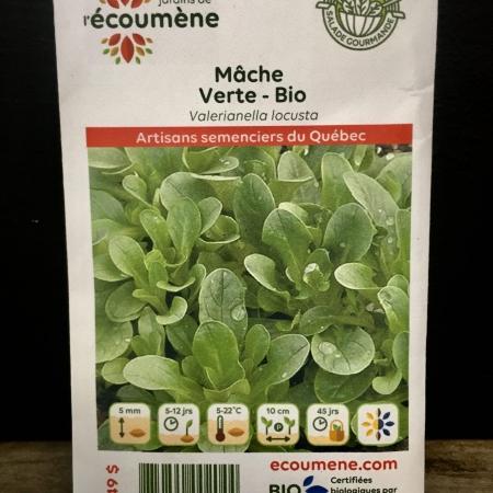 Écoumène - Mâche Verte - Bio (250 semences)