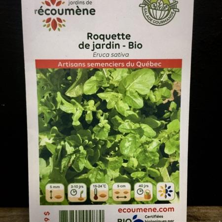 Écoumène - Roquette de jardin - Bio (1000 semences)