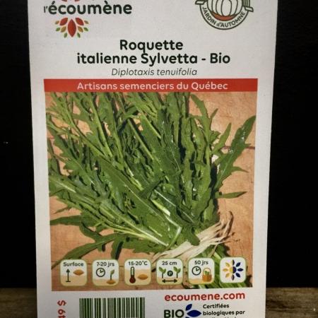 Écoumène - Roquette italienne Sylvetta - Bio (600 semences)