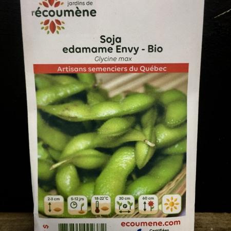 Écoumène - Soja edamame Envy - Bio (40 semences)
