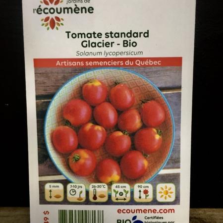 Écoumène - Tomate Glacier - Bio (35 semences)
