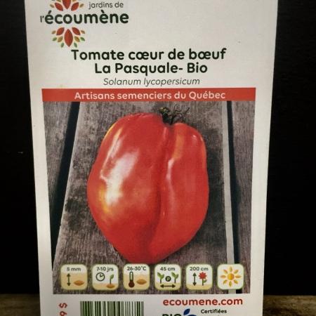 Écoumène - Tomate La Pasquale - Bio (30 semences)