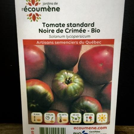 Écoumène - Tomate Noire de Crimée - Bio (35 semences)