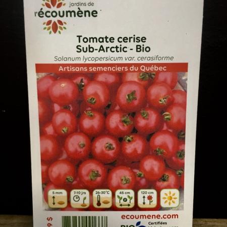 Écoumène - Tomate Sub-Arctic - Bio (35 semences)